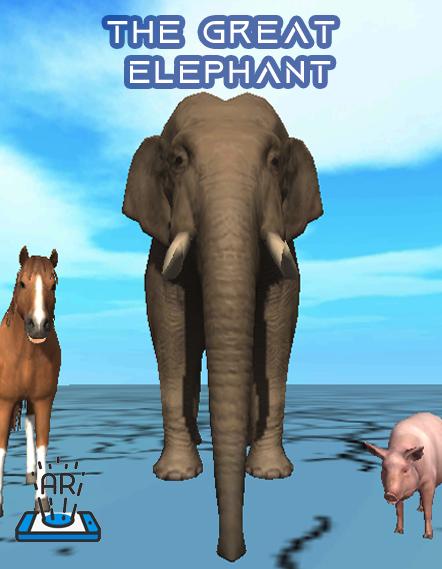 The Great Elephant - iStory Storytelling - AR VR