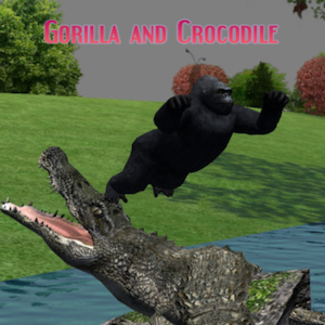 iStory - Gorilla and Crocodile