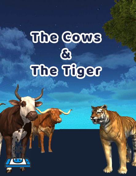 The Cows & The Tiger - iStory Storytelling - AR VR