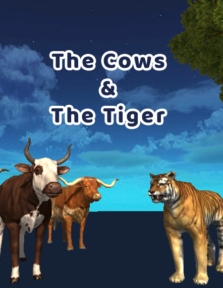 iStory - The Cows & The Tiger - AR VR Storytelling